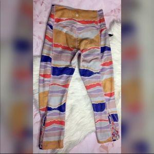 Lululemon Colorful Capri Workout Leggings